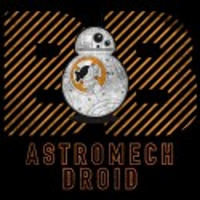 سویشرت هودی BB-8 Warning