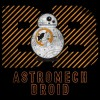 سویشرت هودی BB-8 Warning