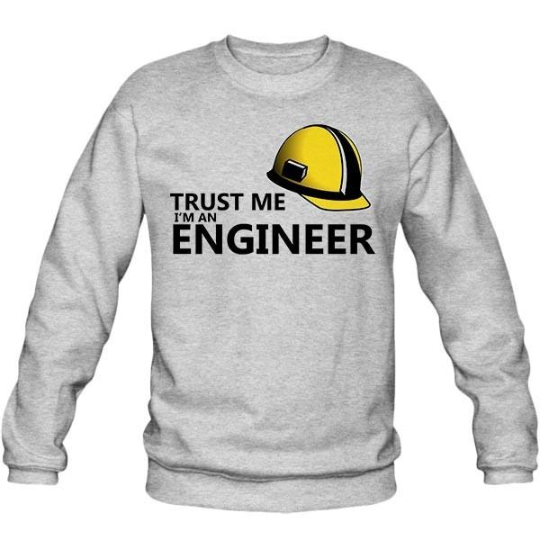 سویشرت یقه گرد TRUST ME I'M ENGINEER