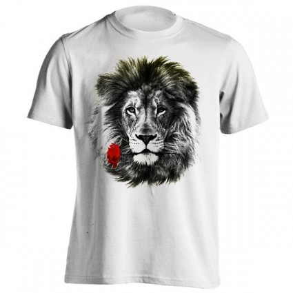 تیشرت طرح Romantic lion