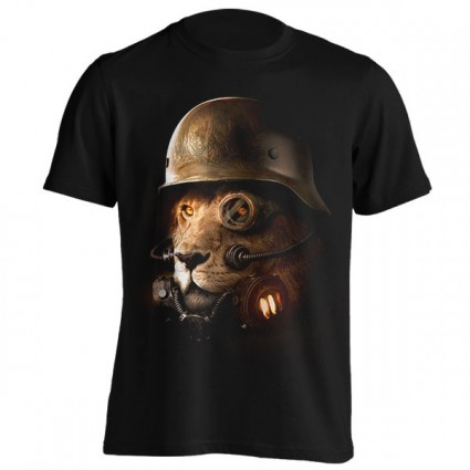 تیشرت Steampunk Lion