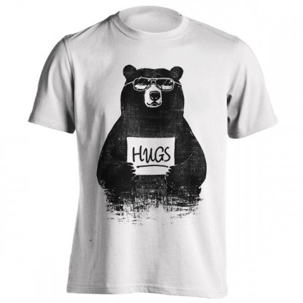 تیشرت طرح HUGS