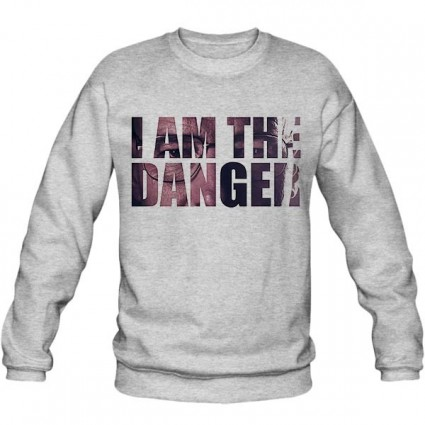 سویشرت یقه گرد I AM THE DANGER