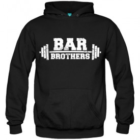 سویشرت هودی bar brothers gym