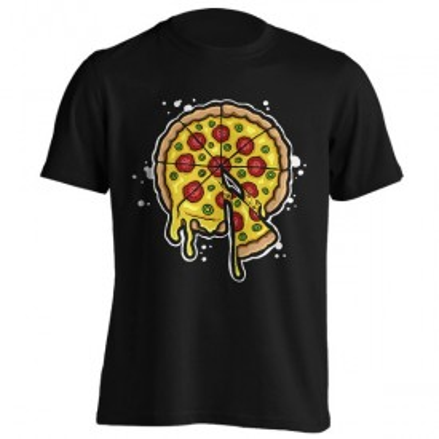 تیشرت با طرح Pizza