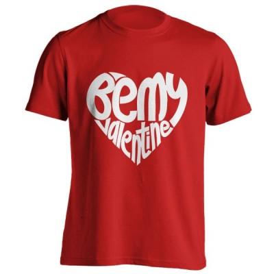 تیشرت ولنتاین طرح Be My Valentine
