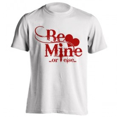 تیشرت ولنتاین طرح Be Mine