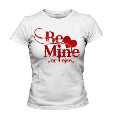 تیشرت دخترانه ولنتاین طرح Be Mine
