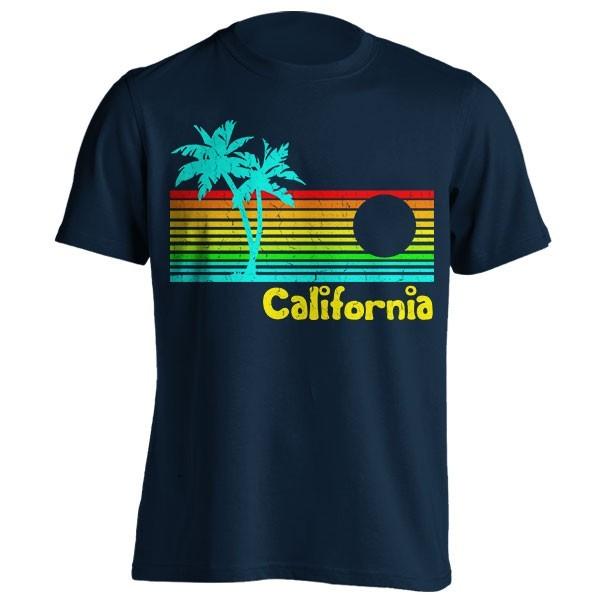 تیشرت طرح Vintage '80s California