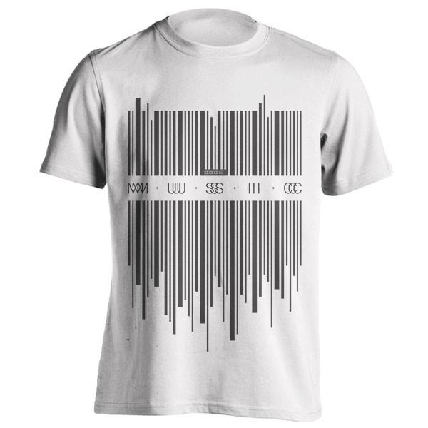 تیشرت طرح Code Music