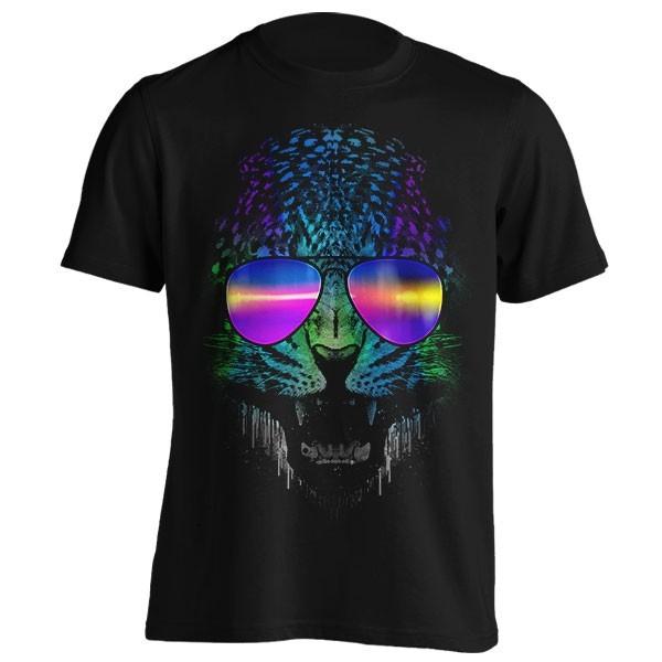 تیشرت طرح Neon Panther