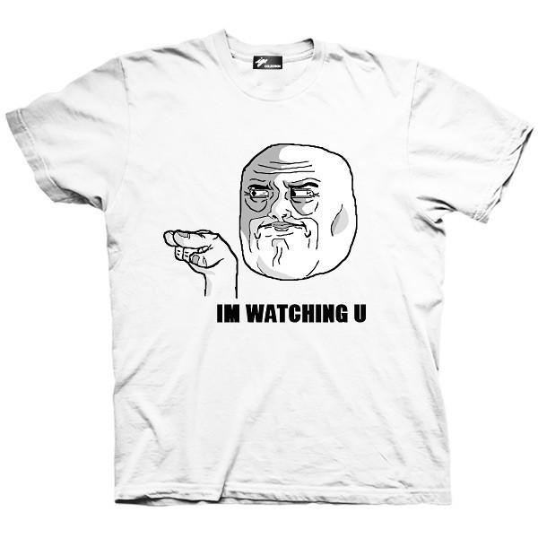 تیشرت ترول طرح I'm watching u