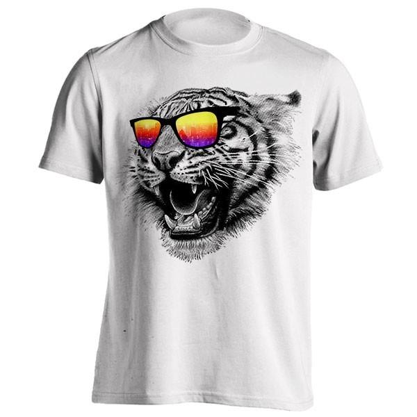 تیشرت طرح Tiger Roar