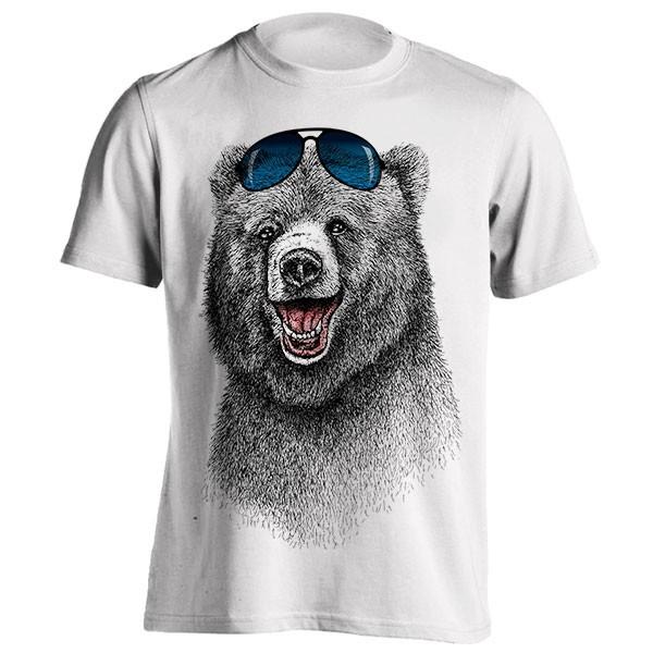 تیشرت گرافیکی طرح The Happiest Bear