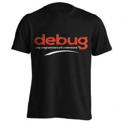 تیشرت طرح debug your code
