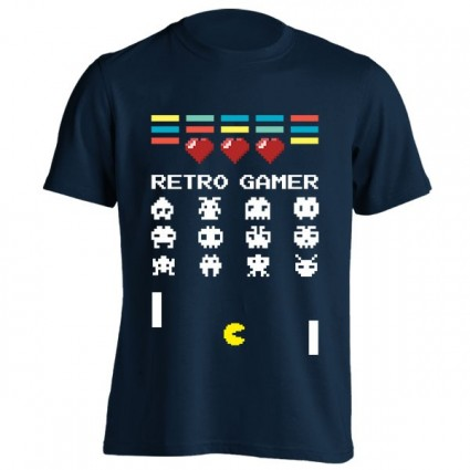 تیشرت طرح Retro Gamer Classic Gaming