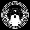تیشرت طرح Anonymous Logo
