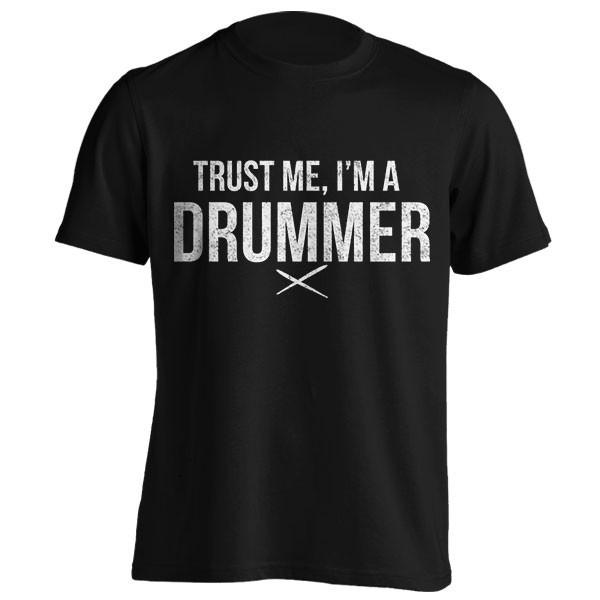 تیشرت طرح Trust me, I'm a drummer