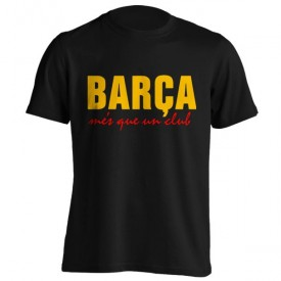 تیشرت طرح بارسلونا
