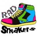 تیشرت گرافیکی کفش کتانی Sneakers