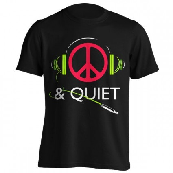 تیشرت گرافیکی Peace & Quiet