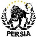 تیشرت پارسی طرح Lions of Persia