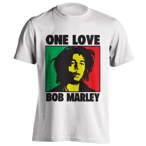 تیشرت باب مارلی طرح One Love