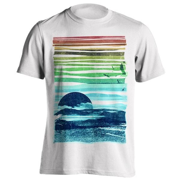تیشرت گرافیکی طرح Sea landscape