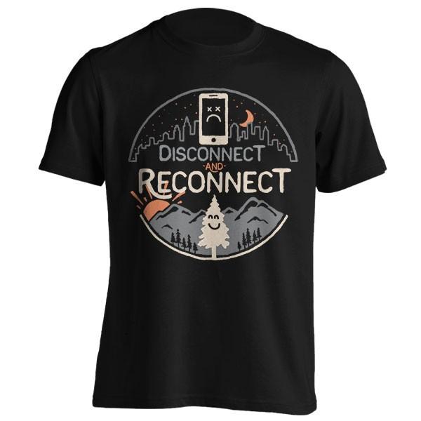 تیشرت گرافیکی طرح Reconnect