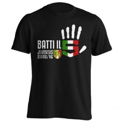 تیشرت یوونتوس طرح Campionato batti 5