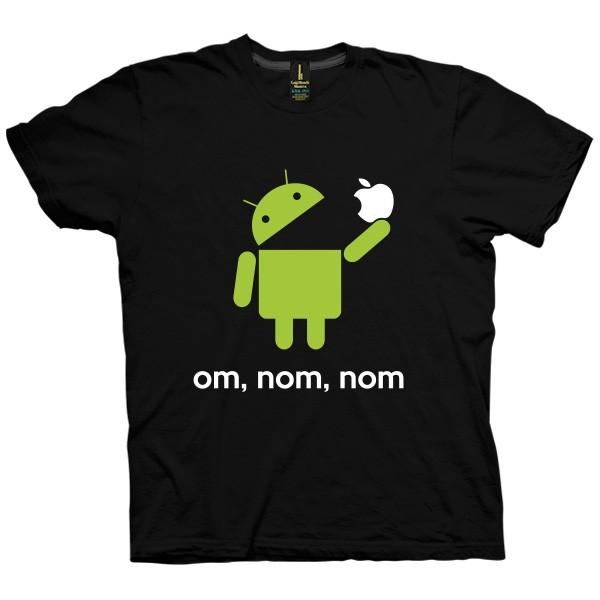 تیشرت گرافیکی طرح Android