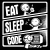 تیشرت Eat Sleep Code