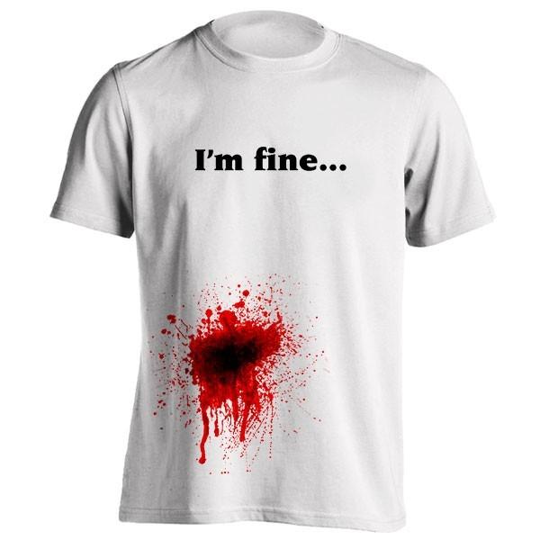 تیشرت I'm fine
