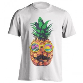 تیشرت Sun Bathing Hipster Pineapple