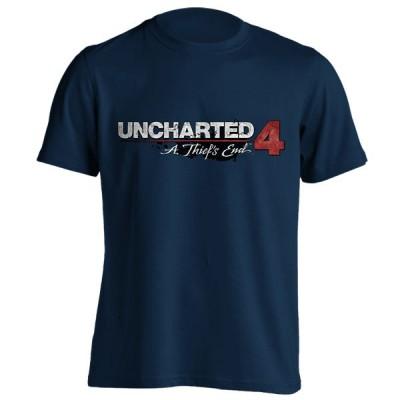 تیشرت طرح Uncharted 4 Logo