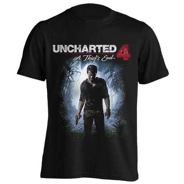 تیشرت طرح بازی Uncharted 4