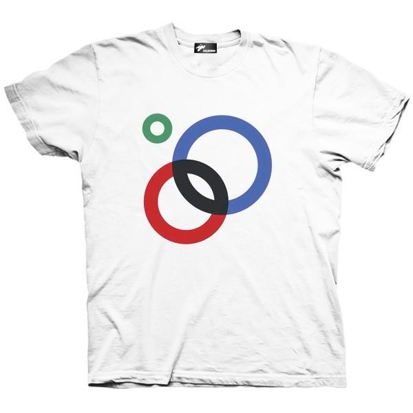 تیشرت گوگل طرح Circles
