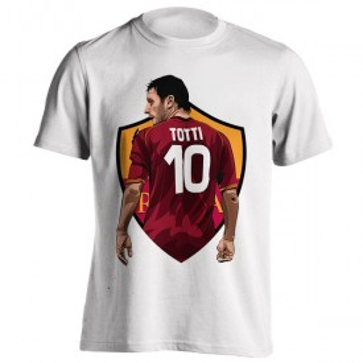 تیشرت طرح Totti