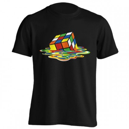 تیشرت Melting Rubiks Cube