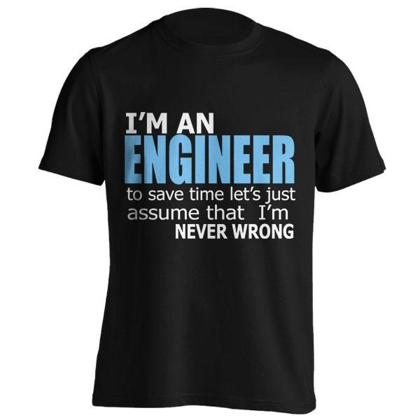 تیشرت I'm an Engineer