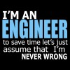 تیشرت I'm an Engineer