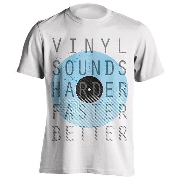 تیشرت طرح Vinyl Sounds