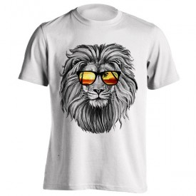 تیشرت طرح Summer Lion