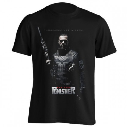 تی‌شرت Punisher طرح War Zone