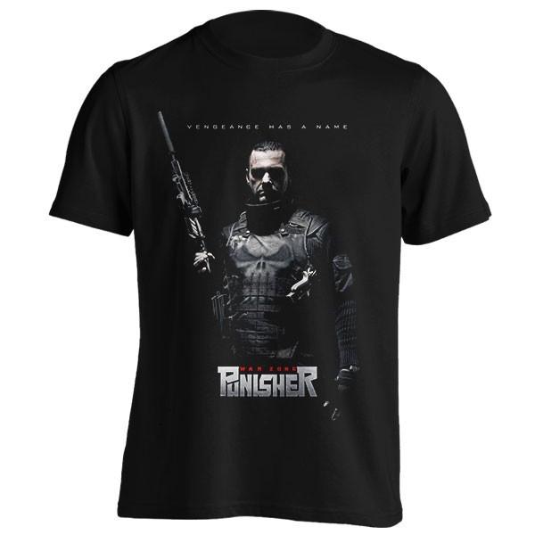 تیشرت Punisher طرح War Zone