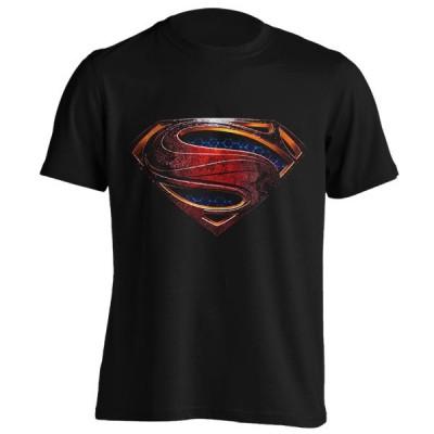 تیشرت سوپرمن طرح Grunge logo