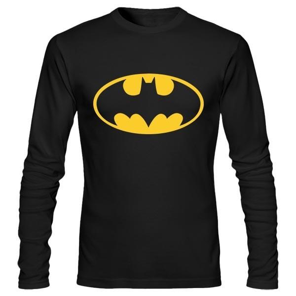 تیشرت آستین بلند طرح Batman Glow In The Dark