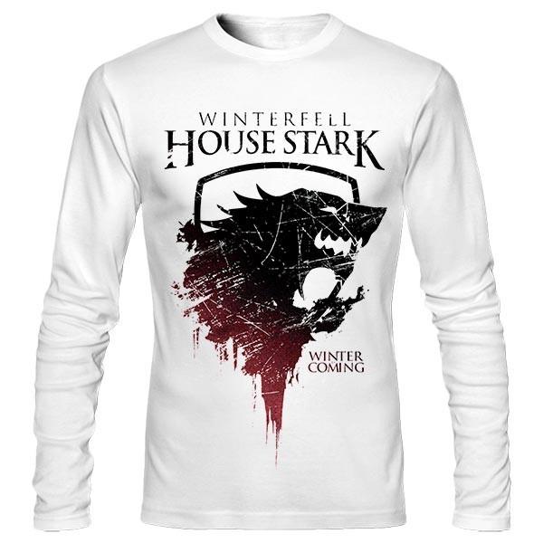 تیشرت آستین بلند طرح House Stark