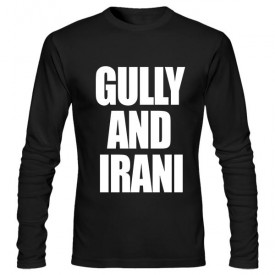 تی‌شرت آستین بلند طرح GULLY AND IRANI
