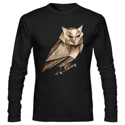 تیشرت آستین بلند طرح Owligami